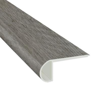 Pelican 3/4 in. Thick x 2 3/4 in. Wide x 94 in. Length Luxury Vinyl Flush Stair Nose Molding