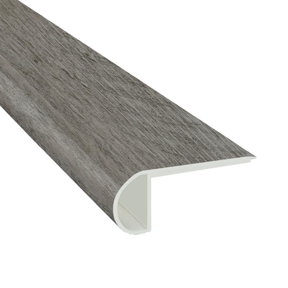 Wood Grain Stair Nose Grey Vinyl Trim Vinyl