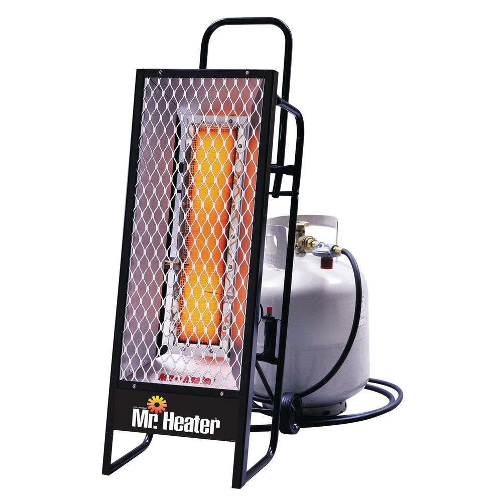 Propane Radiant Heater >> 35 000 Btu Radiant Lp Portable Heater Mh35lp The Home Depot