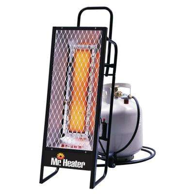 35,000 BTU Radiant LP Portable Heater