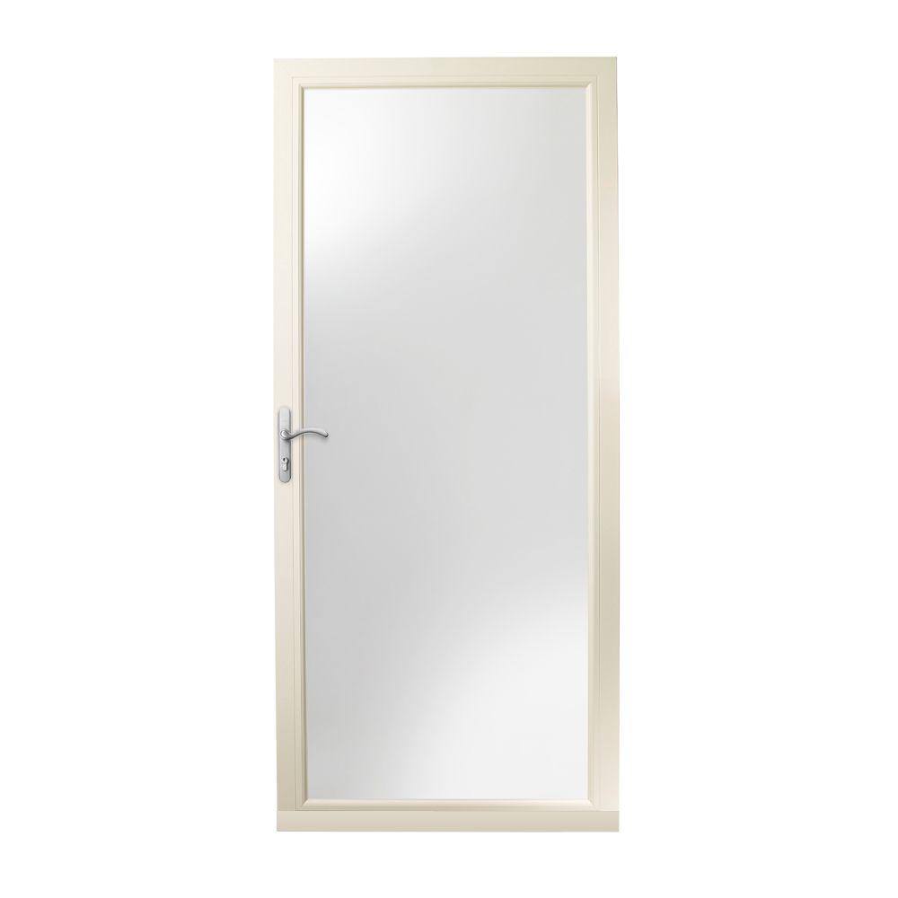 Andersen 36 in x 80 in 3000 series almond left hand for Andersen doors