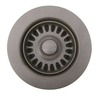 Sink Waste Flange in Metallic Gray