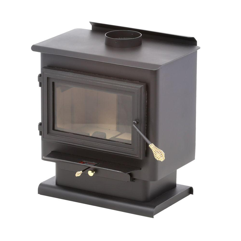 800 sq. ft. Wood-Burning Stove-13-NCH - The Home Depot