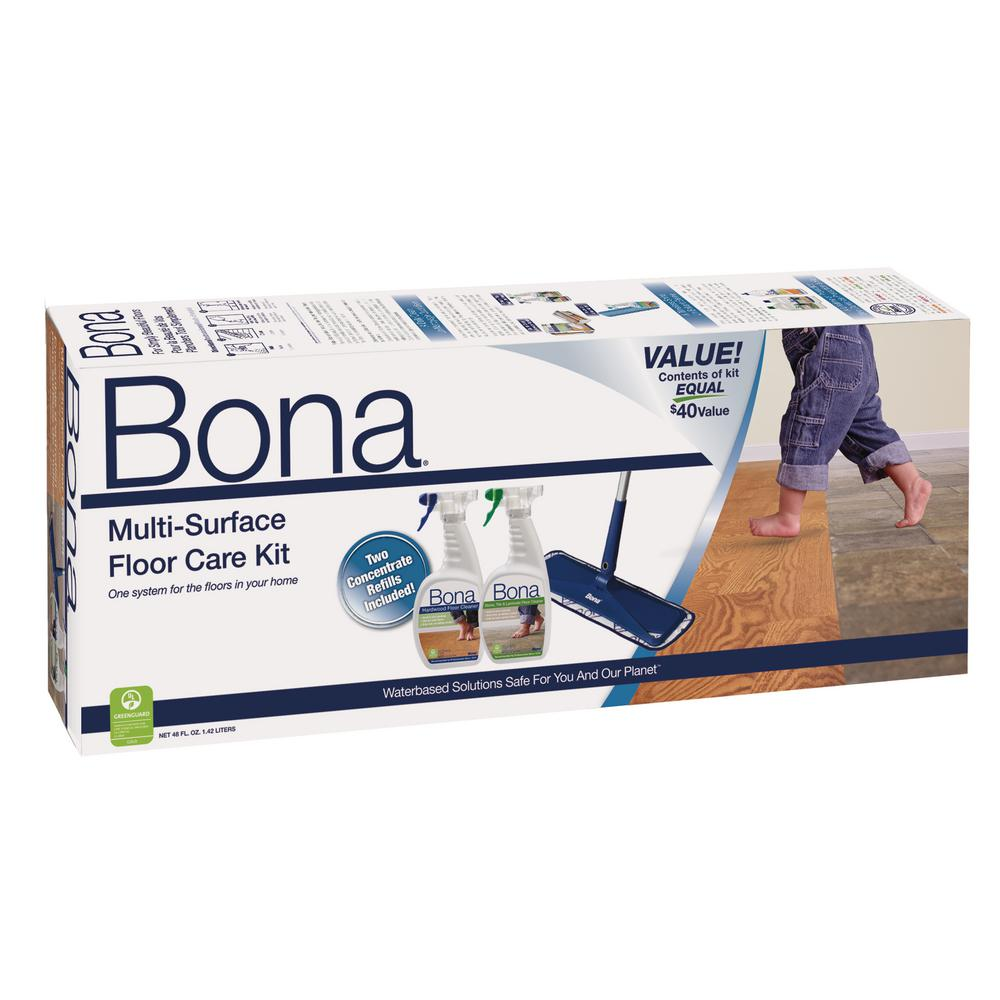 Bona Multi Surface Floor Care Kit