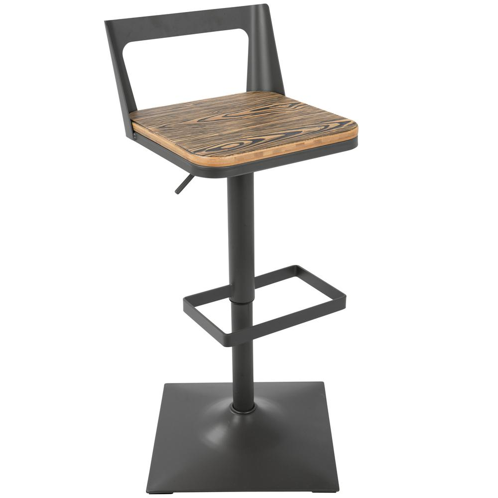Lumisource Adjustable Bar Stool