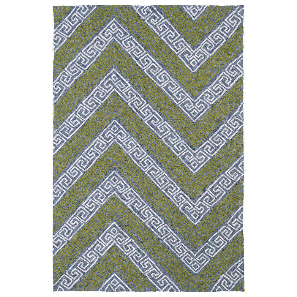 Kaleen Matira Grey 9 Ft X 12 Indoor Outdoor Area Rug