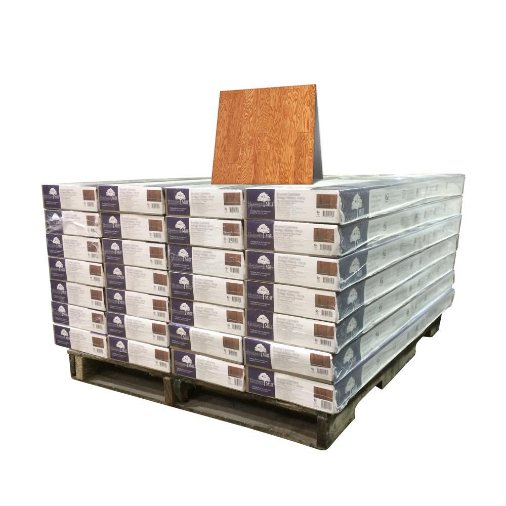 Oak Golden 1/2 in. Thick x 5 in. Wide x Random Length Engineered Hardwood Flooring (868 sq. ft. / pallet)
