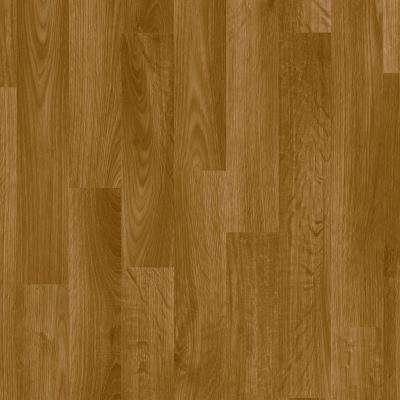 FlexStep Value Plus 12 ft. Width x Custom Length Gunstock Residential Vinyl Sheet Flooring