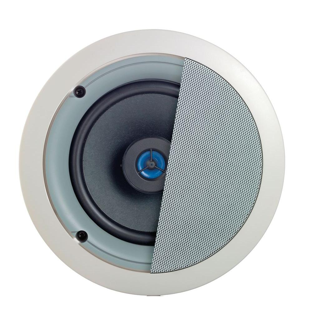 Leviton Spec Grade Sound 120 Watt 2 Way In Ceiling Speakers White Loudspeaker System Crossover Network Speaker Protection Circuit