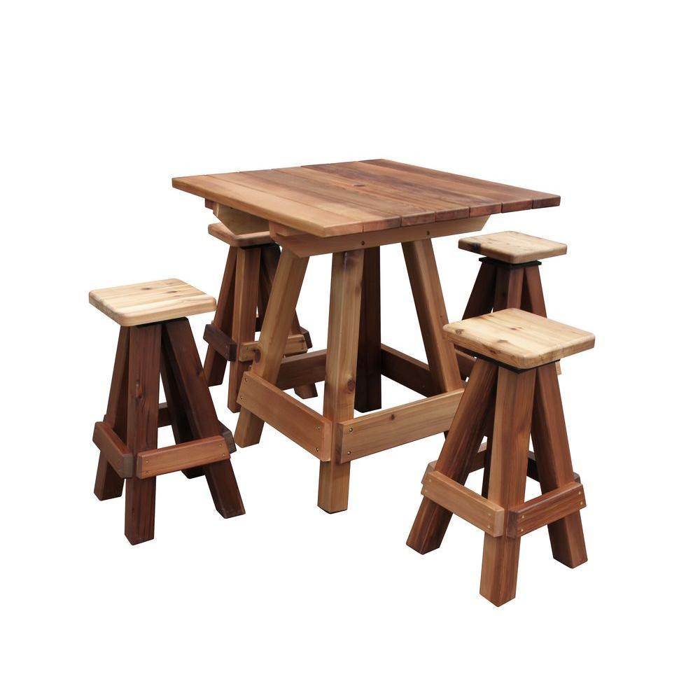 Picnic Patio Table Bar Top Ptbt 39