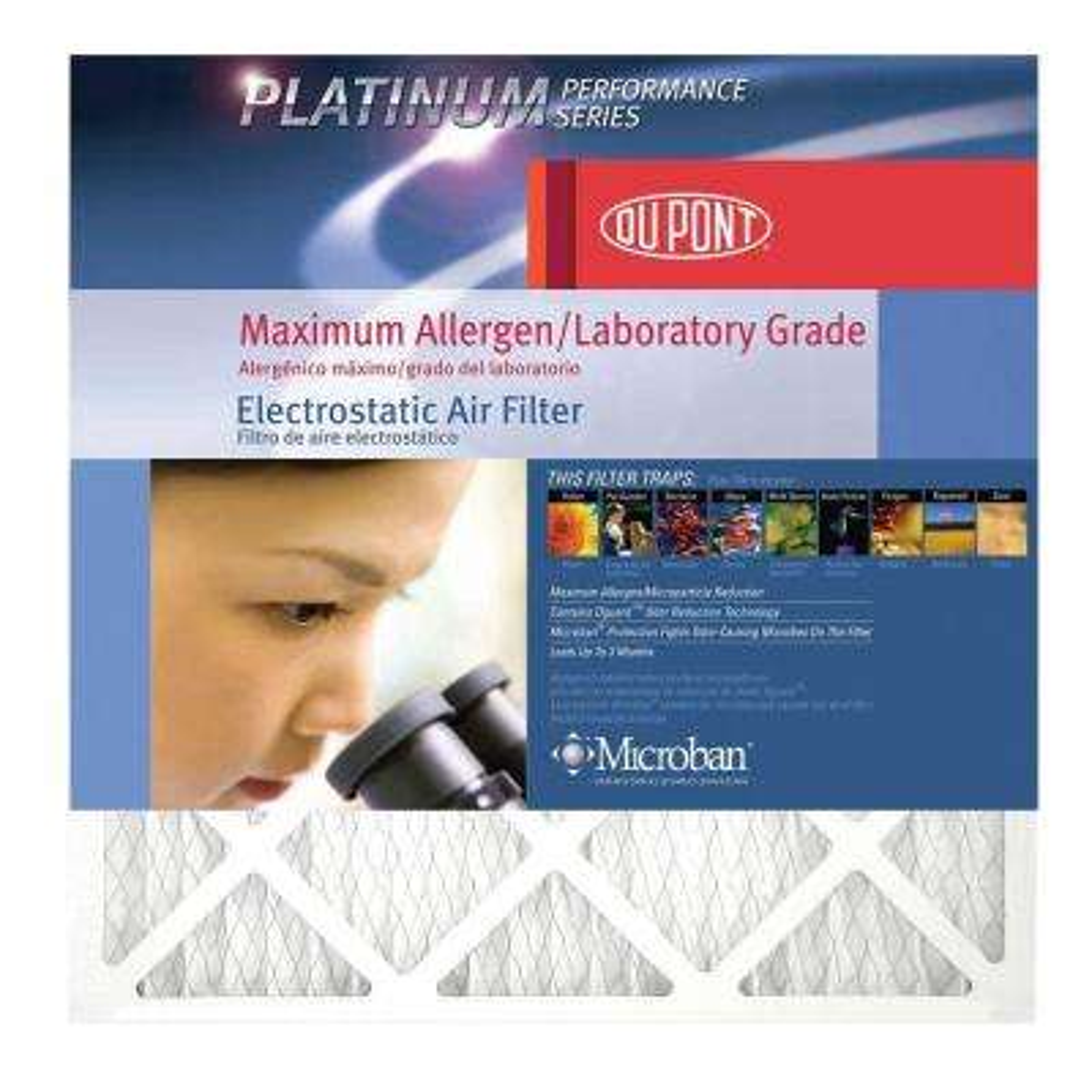 12 in. x 36 in. x 1 in. Platinum FPR 10 Maximum Allergen Air Filter (4-Pack)