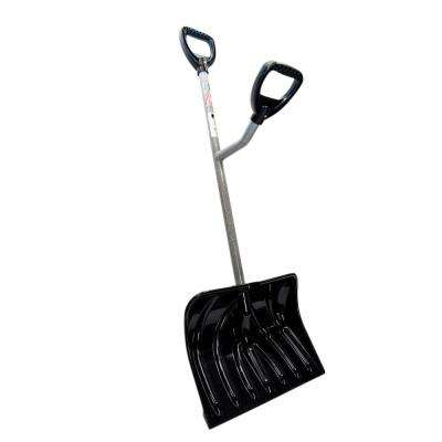 Ergonomically Designed Two Handled Snow Shovel