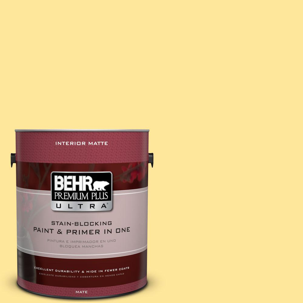 1 gal. #380A-3 Summer Harvest Matte Interior Paint and Primer in