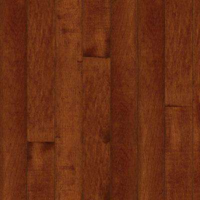 Take Home Sample - Maple Cherry Hardwood Flooring - 5 in. x 7 in.