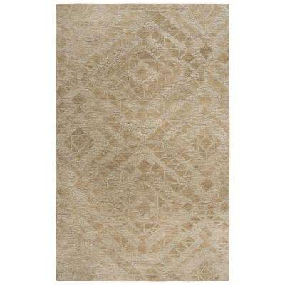 Fifth Avenue Brown 5 ft. x 8 ft. Abstract Area Rug