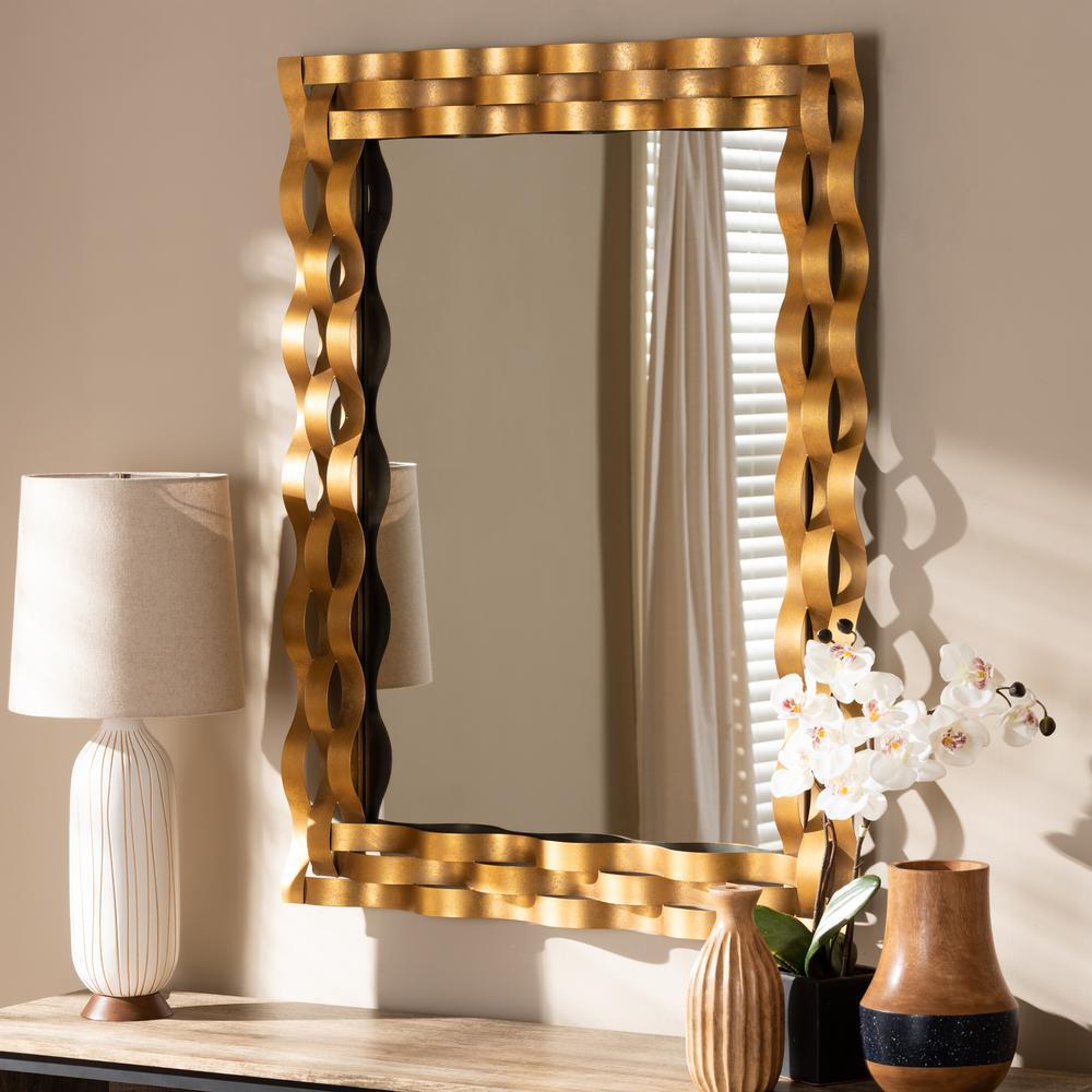Arpina Antique Gold Wall Mirror