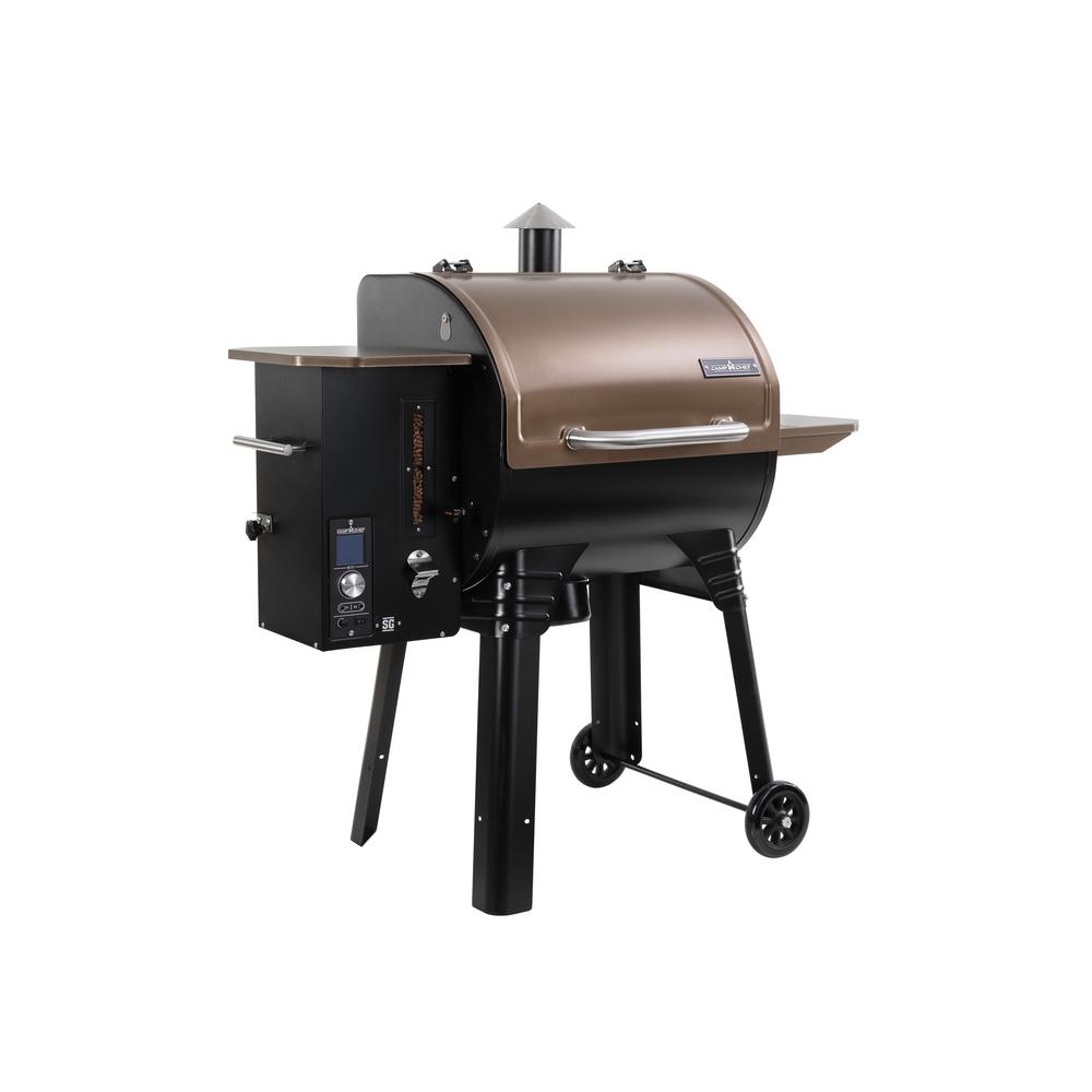 Camp Chef SmokePro SG 24 WIFI Pellet Grill in Bronze