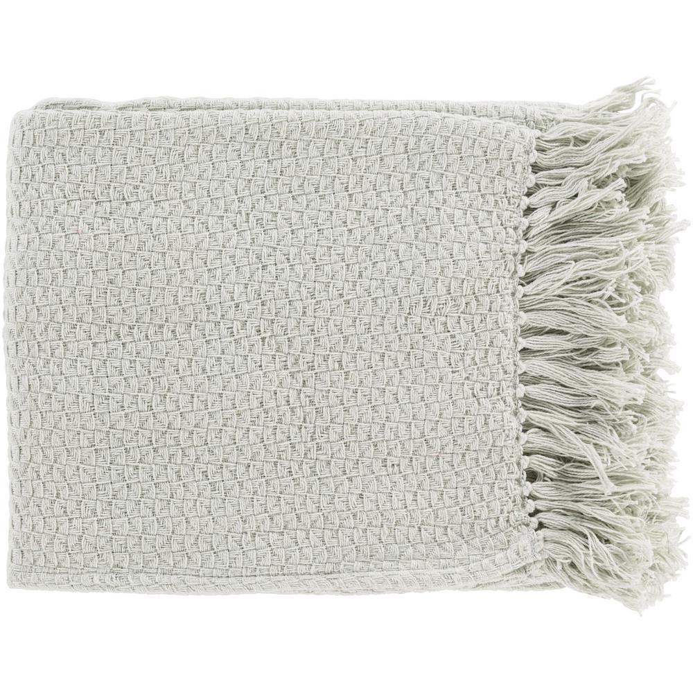 Sandford Sea Foam Cotton Throw
