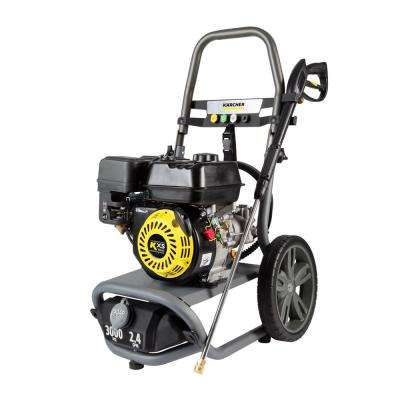 G3000 X - 3000 PSI Gas PW, 2.4 GPM with Karcher KXs Engine - Axial Pump