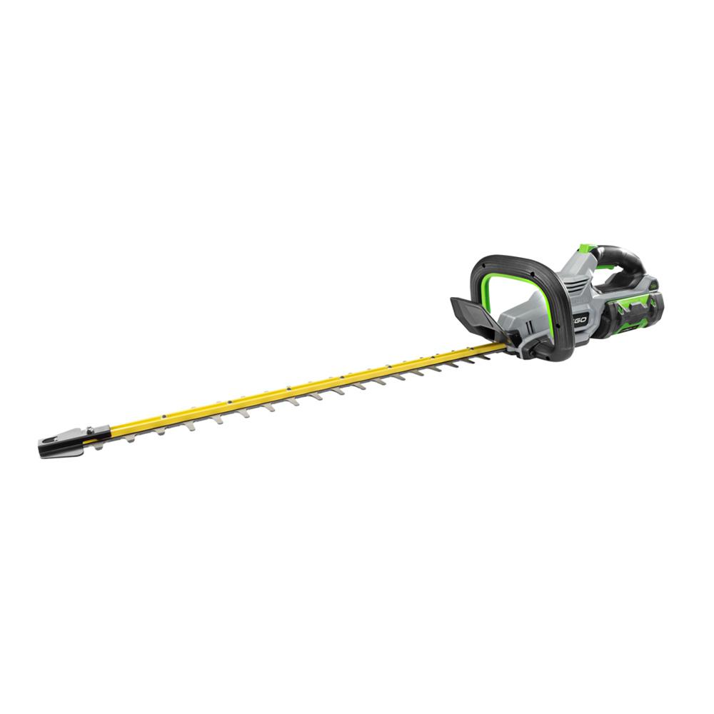 EGO 24 in. 56V Lithium-Ion Cordless Electric Brushless Hedge Trimmer, 2.5 Ah Battery and Charger Included