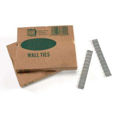 7/8 in. x 6-3/8 in. 26-Gauge Wall Ties (Box of 500)
