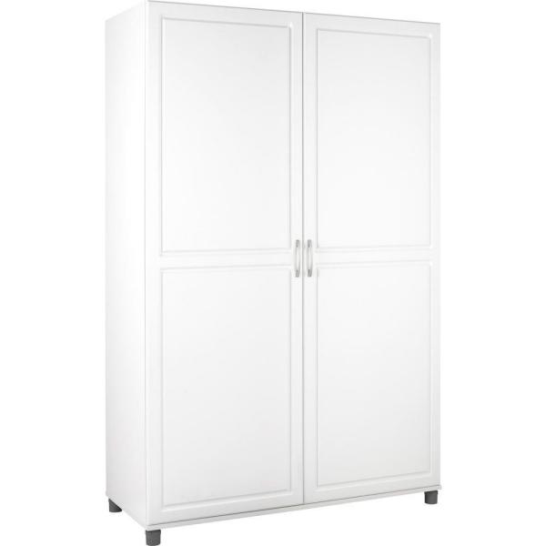 Systembuild Kendall White Storage Cabinet 7361401pcom