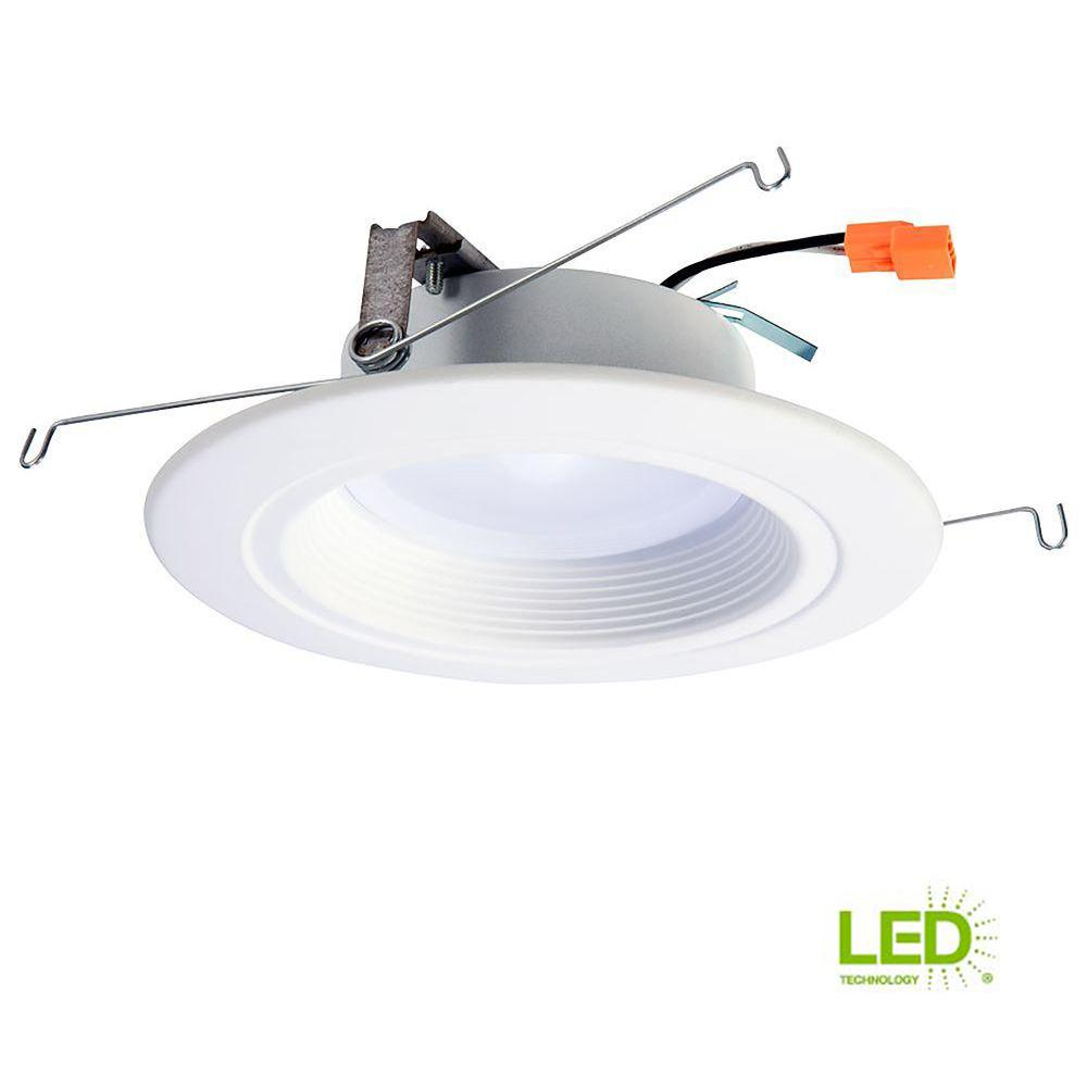 65c696d2633446 Halo RL 5 in. and 6 in. White Integrated LED Recessed Ceiling Light Fixture