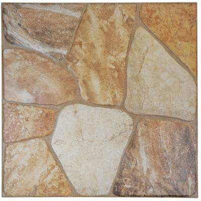 Lyon Beige 17-3/4 in. x 17-3/4 in. Ceramic Floor and Wall Tile (64 cases / 1120 sq. ft. / pallet)