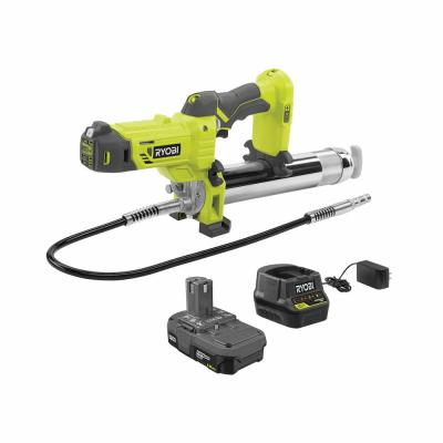 18-Volt ONE+ Lithium-Ion Cordless Grease Gun Kit with 1.5 Ah Battery and Charger