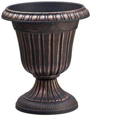 Traditional 10 in. x 12 in. Copper Plastic Urn