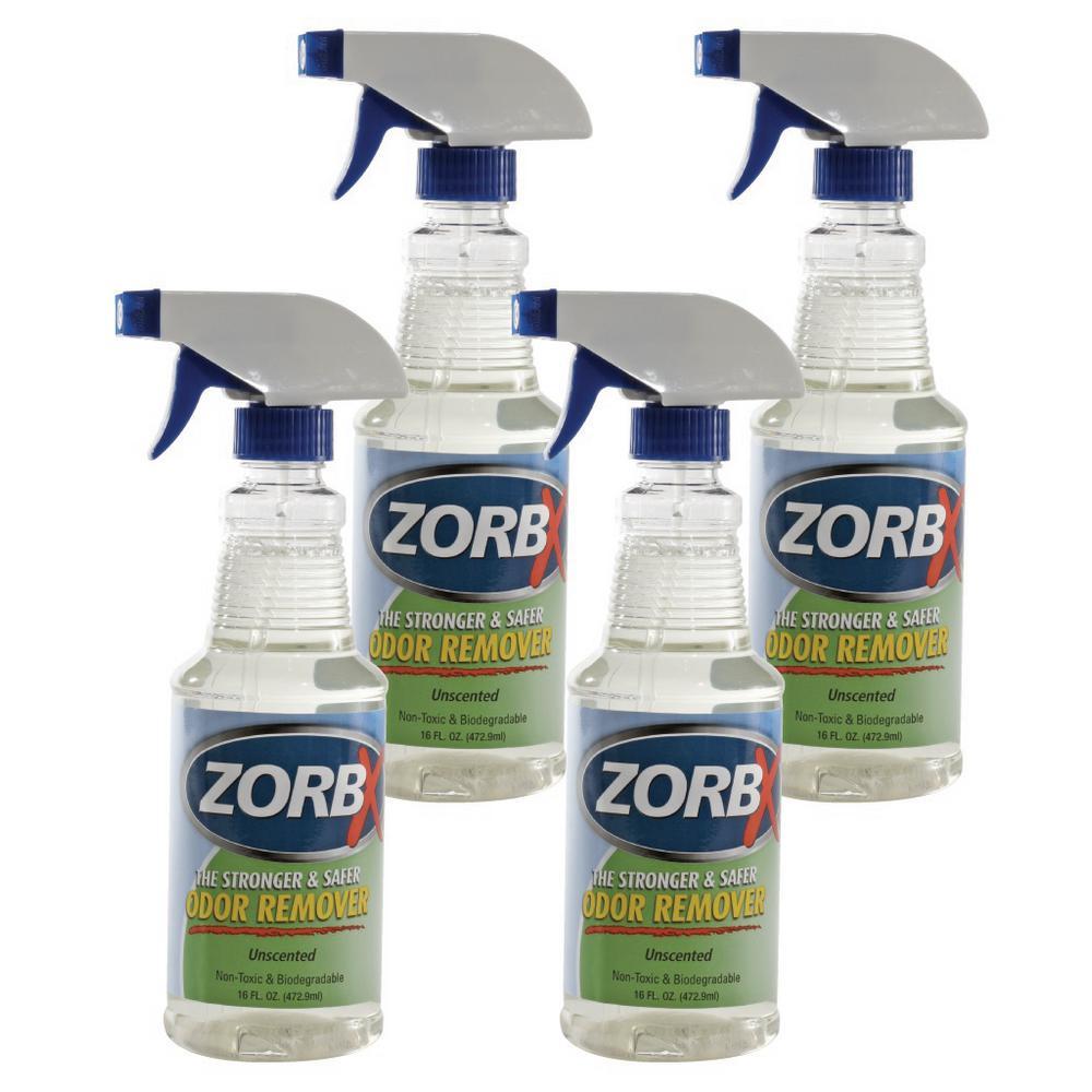 16 oz. Unscented Odor Remover (4-Pack)