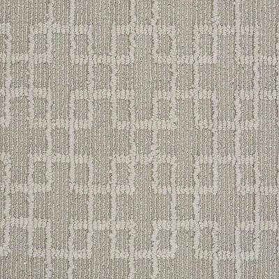 Carpet Sample - Quilted Dreams- In Color Wood Ash 8 in. x 8 in.