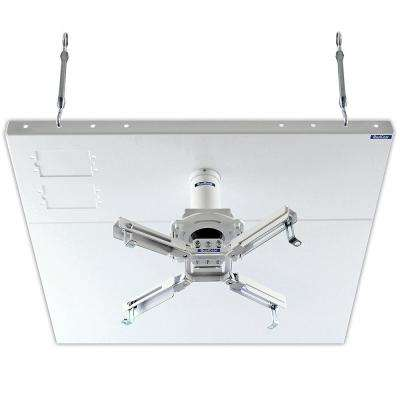 2 ft. x 2 ft. Pro-AV Projector Mount Kit with a Suspended Ceiling Adapter, White