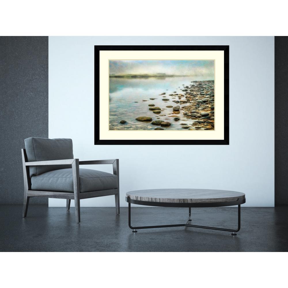"46 in. W x 34 in. H ""Stillness"" by Dianne Poinski Framed Art Print"