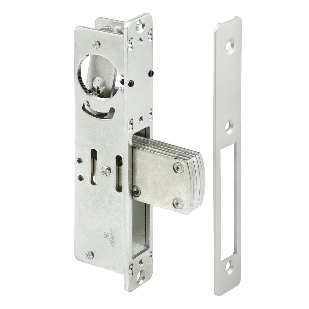 31/32 in. Backset Aluminum Finished Steel Entry Door Deadbolt Lock