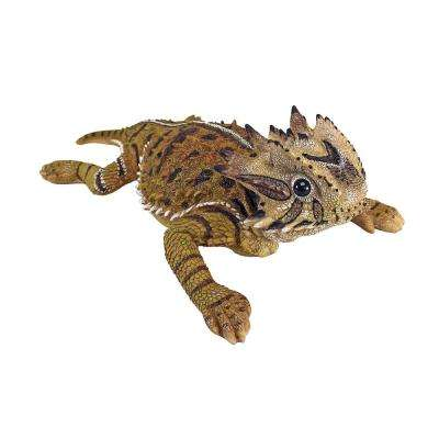 4.5 in. H Horny Toad Lizard Statue