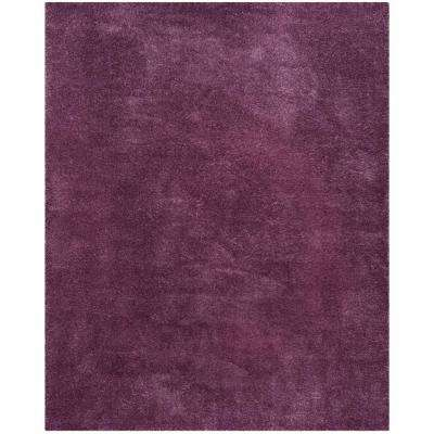 Reno Shag Purple 8 ft. x 10 ft. Area Rug