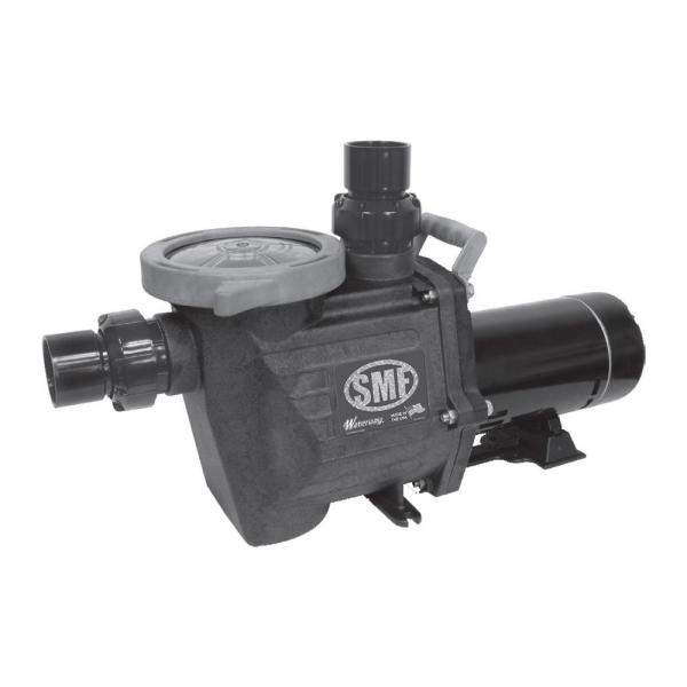 1-1/2 HP SMF Single Speed Pool Pump