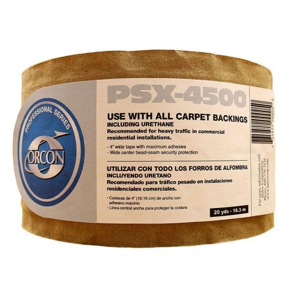 Indoor 4 in. x 60 ft. Carpet Seaming Tape Roll