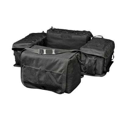 Deluxe Black ATV Rack Bag