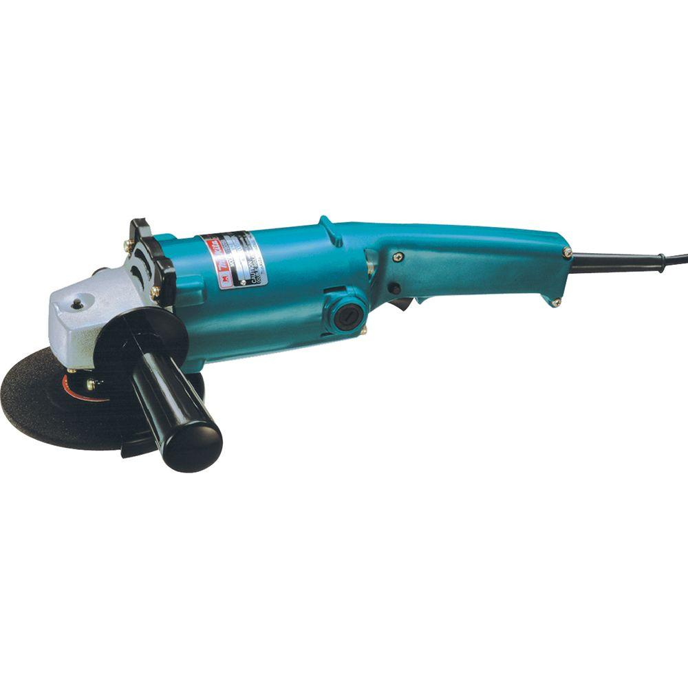 Makita 9 Amp 5 in. Corded High-Power Angle Grinder with AC/DC