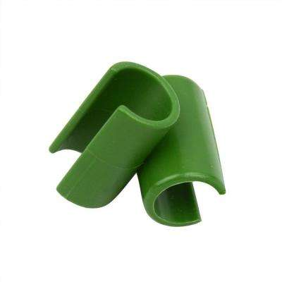 7 ft. Garden Stake Plastic Connector Clips (10-Pack)