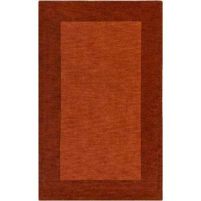 Piedmont Park Francis Rust 8 ft. x 10 ft. Indoor Area Rug