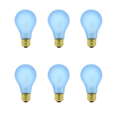 60-Watt A19 Medium E26 Base Indoor and Hydroponic Greenhouse Dimmable Incandescent Plant Grow Light Bulb (6-Pack)