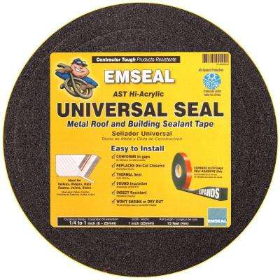 Universal Seal 1 in. x 1 in. x 12 ft. Impregnated Expanding Open-Cell Foam Sealant Tape