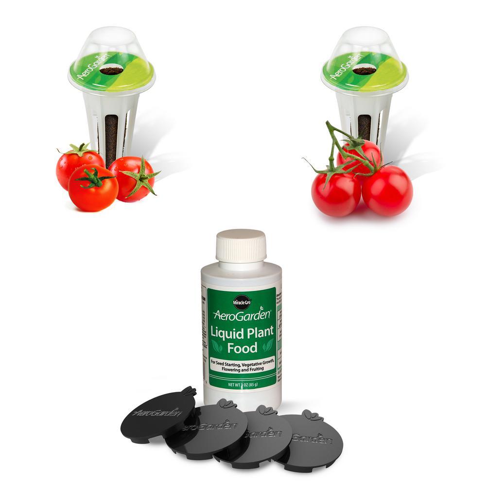 MiracleGro Miracle-Gro AeroGarden Red Heirloom Cherry Tomato Seed Pod Kit (6-Pod), N/A