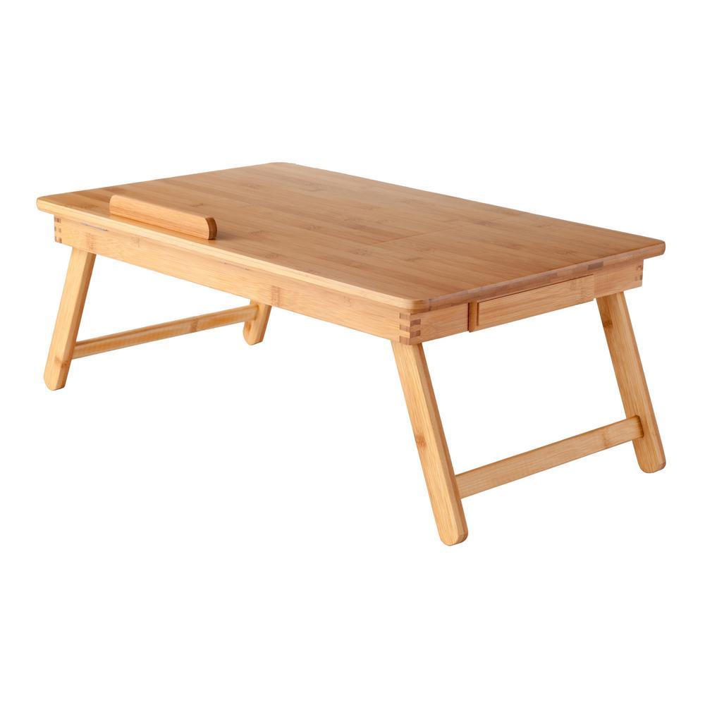 Baldwin Lap Desk with Flip Top Bamboo