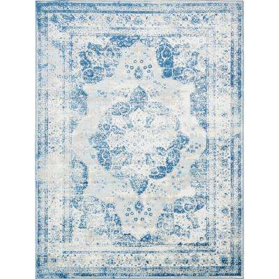 Sofia Blue 9 Ft X 12 Rug