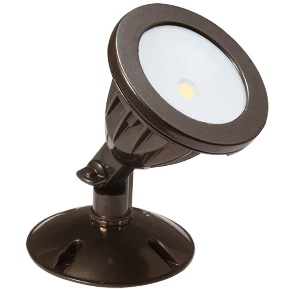 Irradiant Dark Bronze Led Outdoor Wall Mount Flood Light