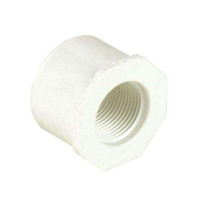 4 in. x 1 in. Schedule 40 PVC Reducer Bushing SPGxFPT